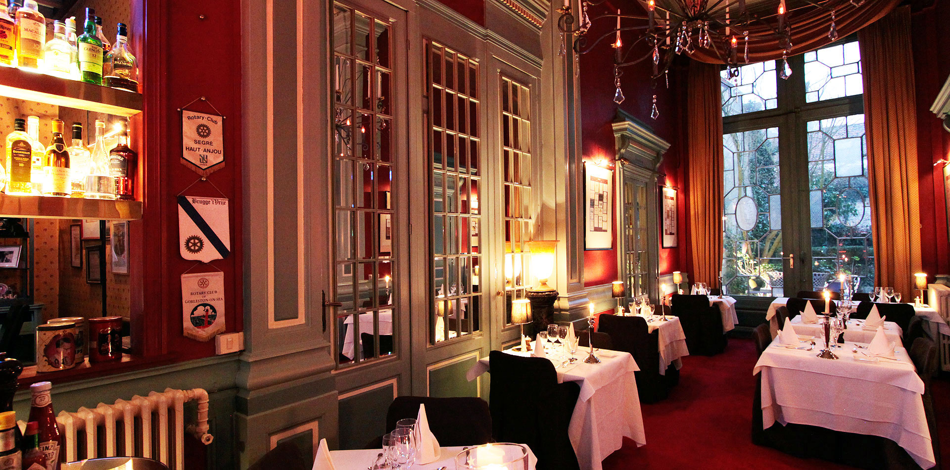 Park restaurant bruges belgium gin bone for The restaurant