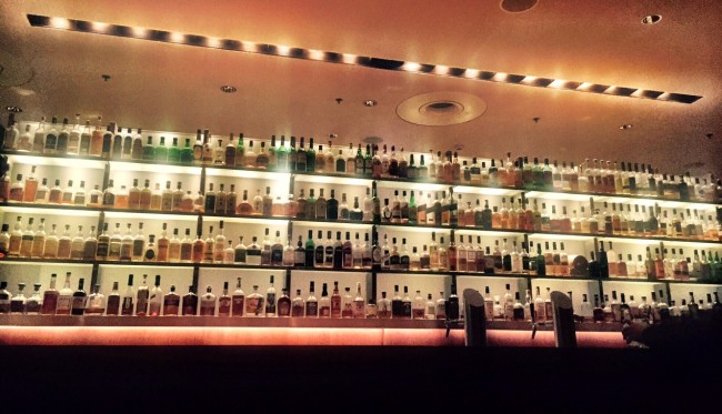 Vox Whiskey Wall