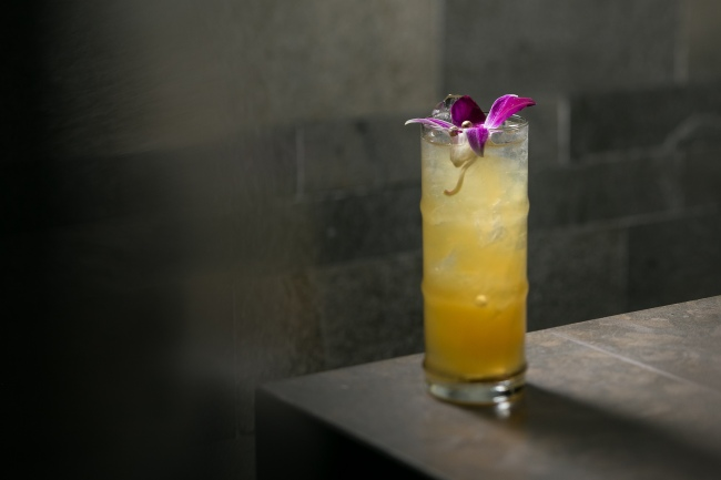 Soft Golden Iced Tea Hakkasan