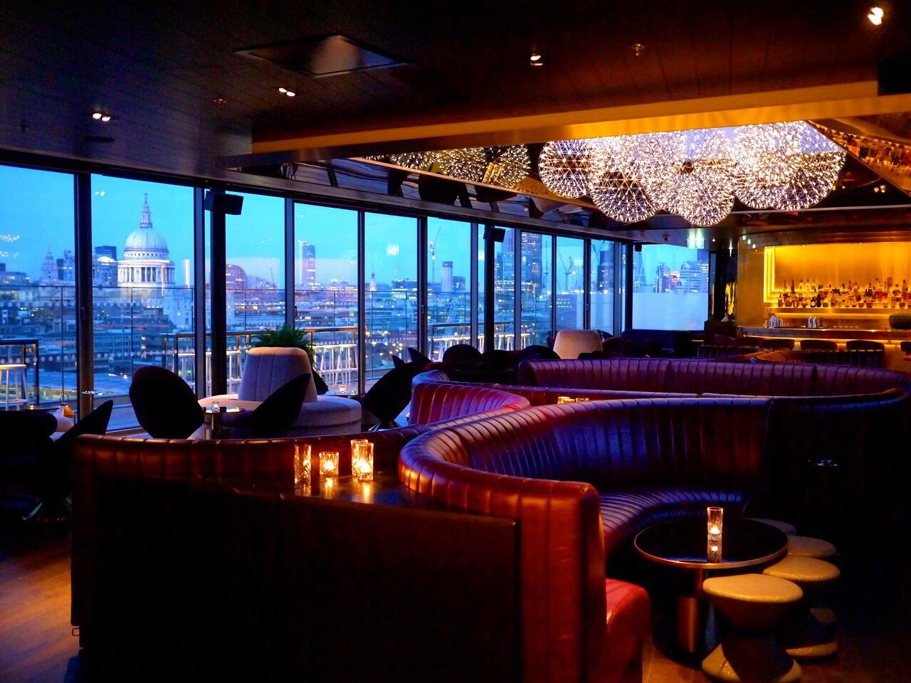 Sea Containers & Rumpus Room at the Mondrian Hotel – London – Gin & Bone