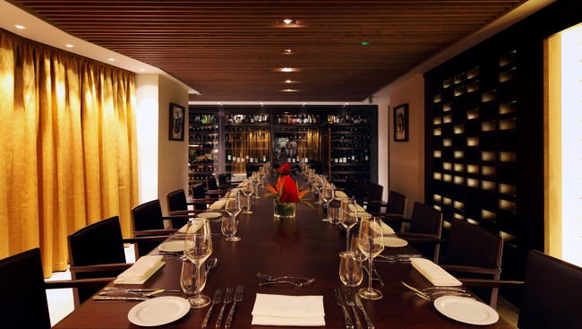 Quilon Banquet Private Dining Table