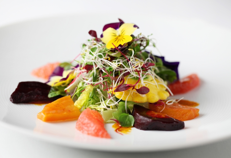 Quilon Grapefruit Salad