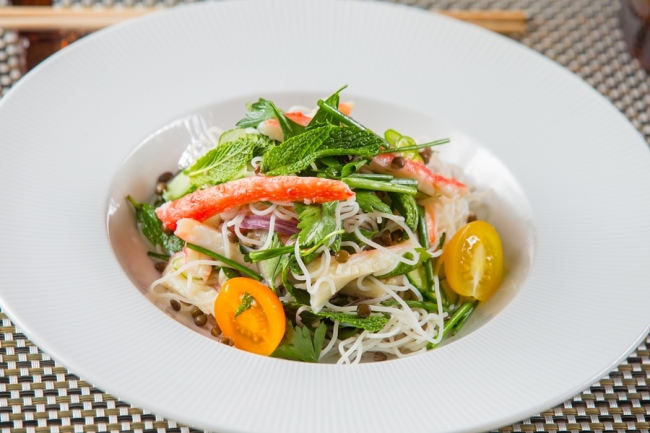 Andreas Las Vegas VERMICELLI AND CRAB SALAD