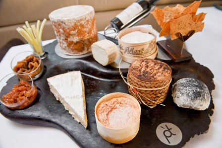 Pied a terre cheeses
