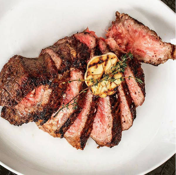 STK Vegas Steak Garlic Cosmopolitan
