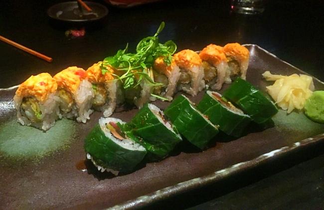 Sushi samba sushi rolls