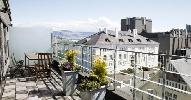 101 Hotel Reykjavik Balcony Suite