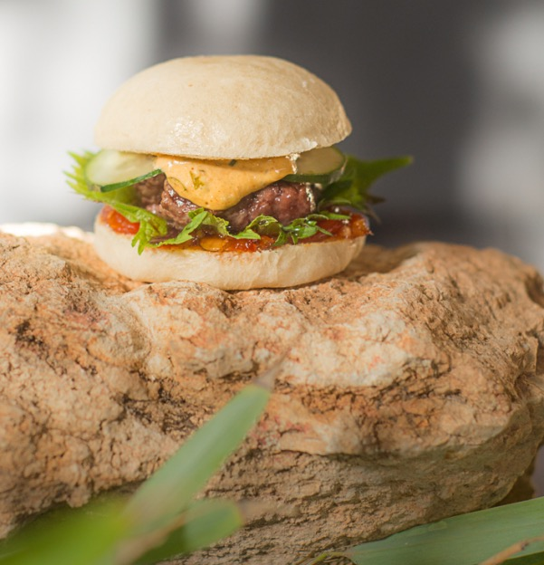Bao burger - Bambuddha Ibiza
