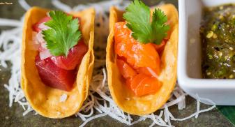 Nobu Brunch Dubai - Fish Tacos