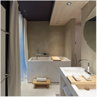 Japanese Bathroom - Hotel De Nell