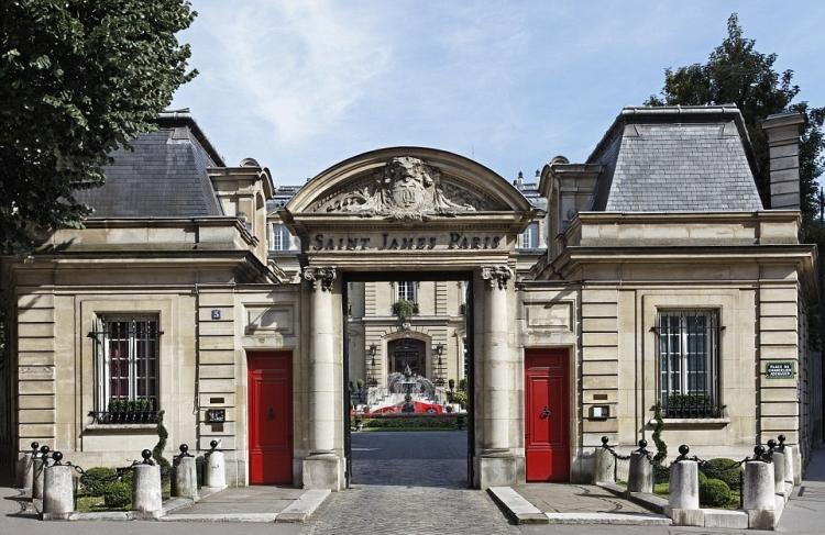 Saint James Paris Hotel Images