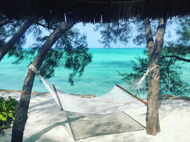 Ocean Tulia Zanzibar Africa Hammock