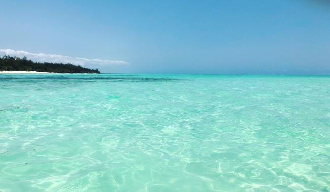 Ocean Tulia Zanzibar Africa Paddleboard surfing