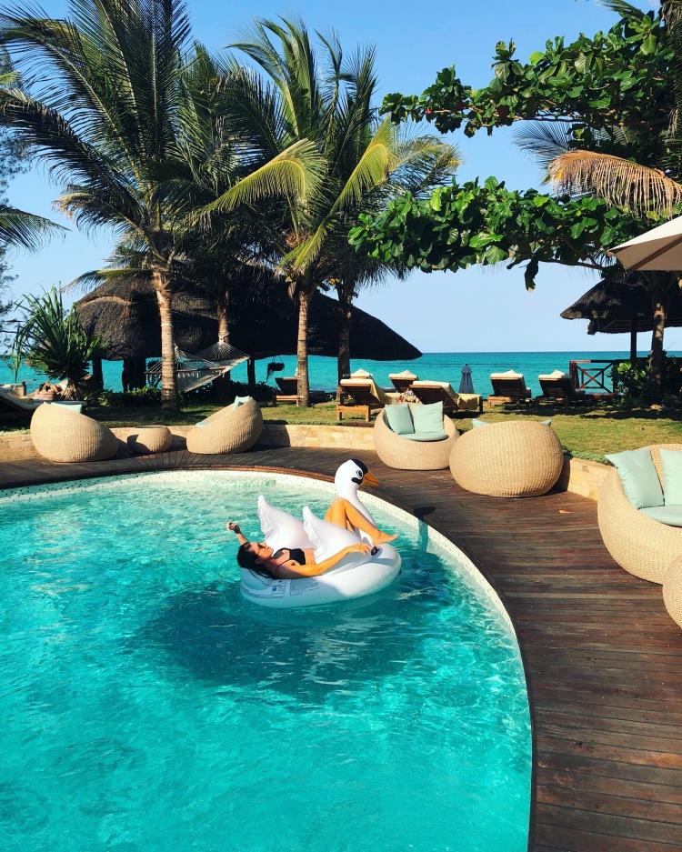 Ocean Tulia Zanzibar Africa Pool