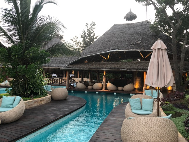 Pool Bar Tulia Zanzibar Africa