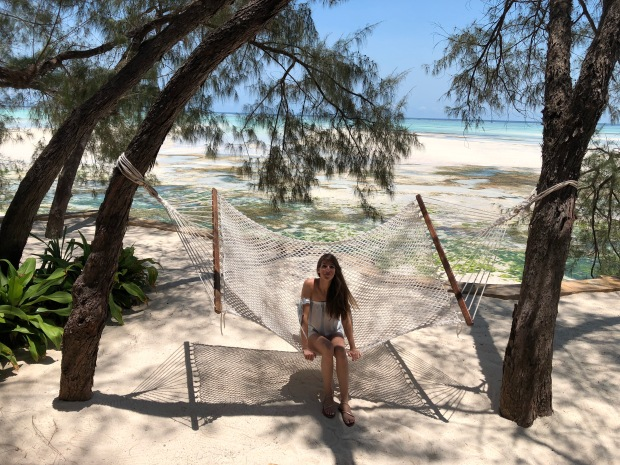 Our Beach Villa/Hut at Tulia Zanzibar - Hammock