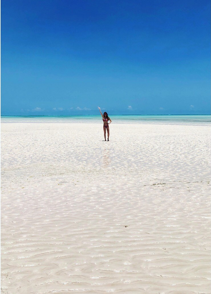 Tide Out - Water Pose - Zanzibar - Beach - Africa