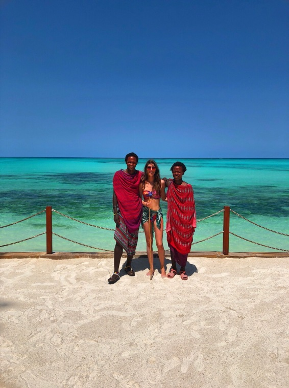 Ocean Tulia Zanzibar Africa Massai