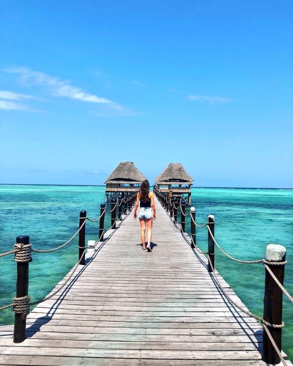Melia - Zanzibar - Pontoon - ocean - Ginandbone