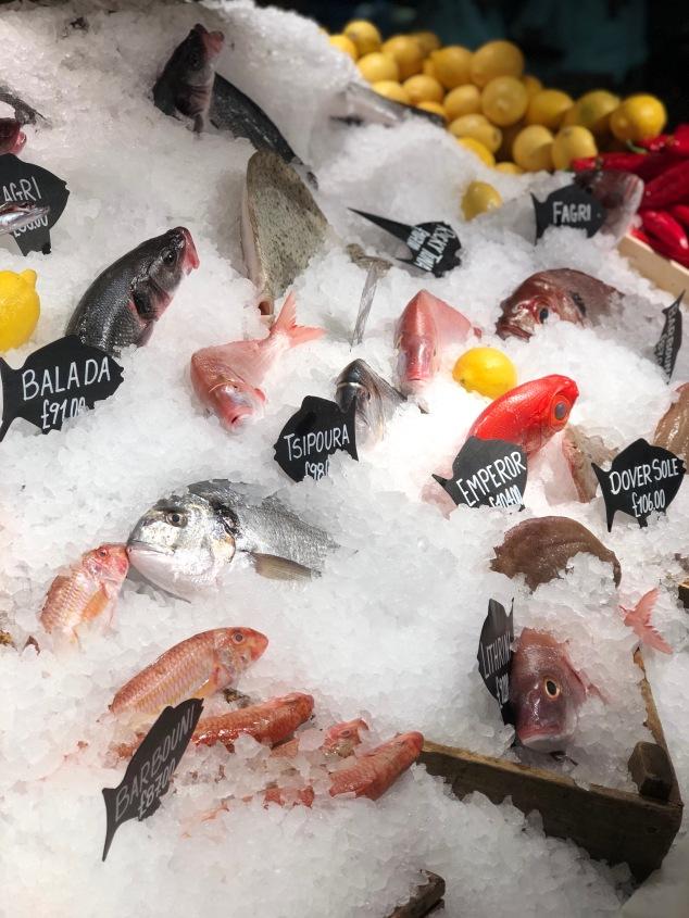 Fish - Estiatorio Milos - London - Greek Food