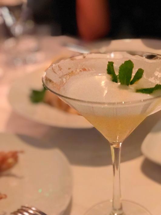 Cocktails - Estiatorio Milos - London - Greek Food