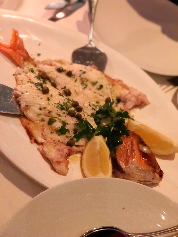 Fagri Fish - Estiatorio Milos - London - Greek Food