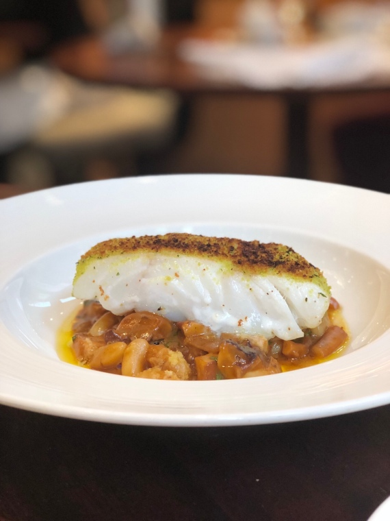 Outlaws at The Capital - Copyright Gin & Bone - Hake, Beans, Fennel
