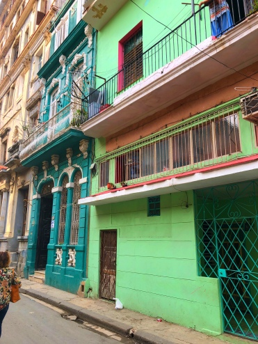 Havana - Colourful Buildings - Cuba