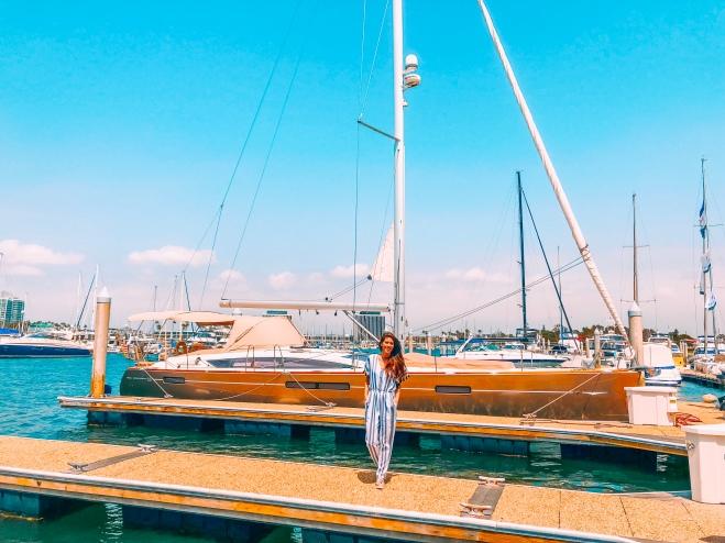 Sailing Sailo Yacht Boat Ocean Marina Del Ray