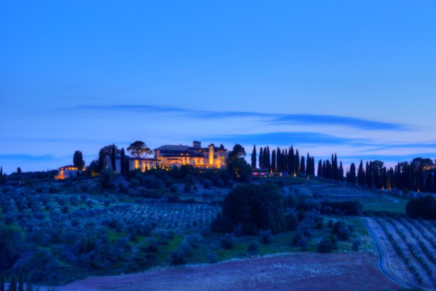 Castello Del Nero - Exterior - Night