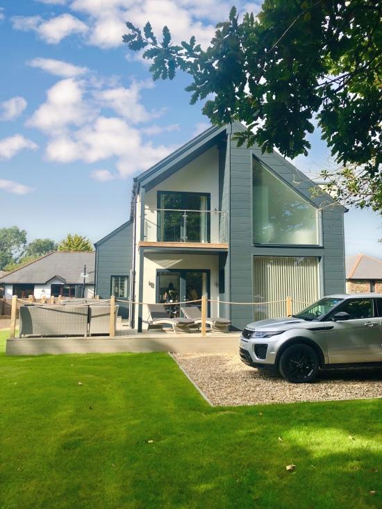 Cornwall Bude Glasshouse Luxury Lodges