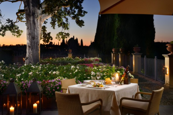 6. LA TORRE MICHELIN RESTAURANT Garden Terrace Dinner