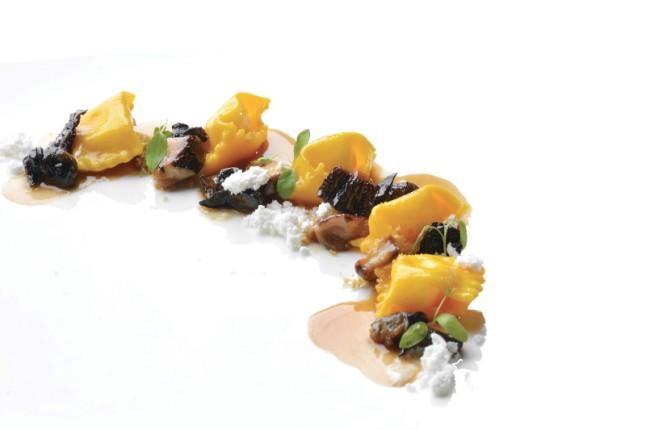 7. FOOD@LA TORRE MICHELIN RESTAURANT - Agnolotti ripieni di parmigiano