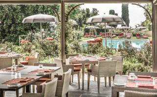 8. LA TAVERNA TUSCAN RESTAURANT by the pool 3