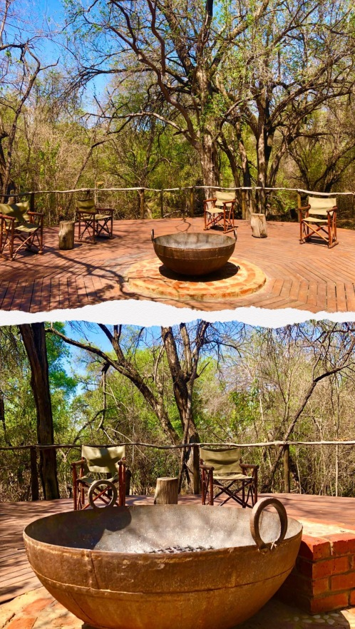 Jaci's Lodge Campfire - Treehouse Bedroom - Treehouse Internal External Shot - Jaci's Treehouse - South Africa - Botswana