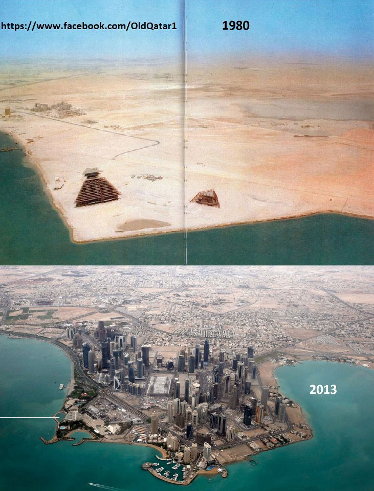 Doha Qatar - Before and After