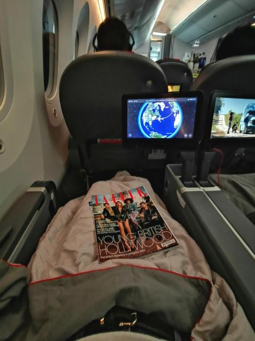 Norwegian Airlines - London to New York Premium Cabin - Copyright Ginandbone