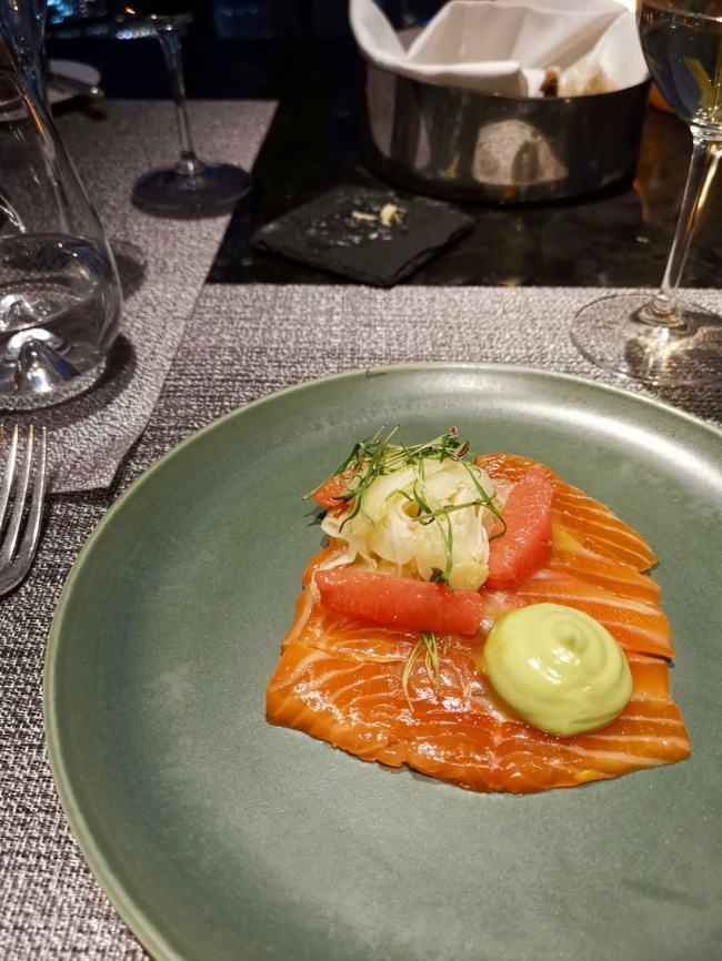 Sea Trout - Ting - Shagri-La - Avocado