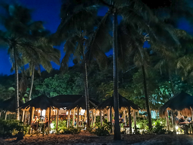 Beach Restaurant - Romantic - Antigua - Palm Tree - Galley Bay