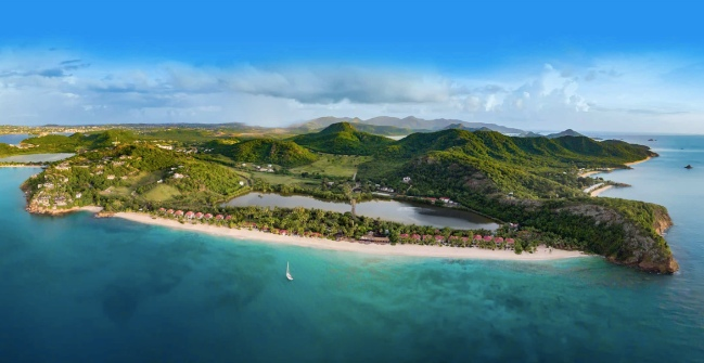 Galley Bay - Antigua - Drone