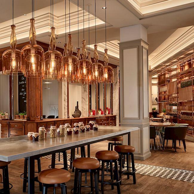 Pots Restaurant - Ritz Carlton Hotel - Berlin